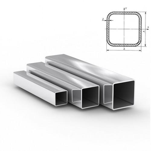 Труба квадратная зеркальная Aisi 201 (12Х15Г9НД)